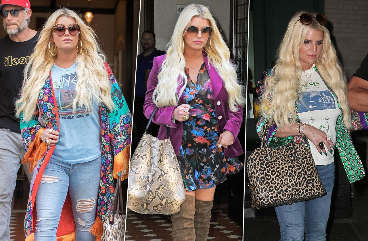 Jessica Simpson Wackiest Outfits NYC