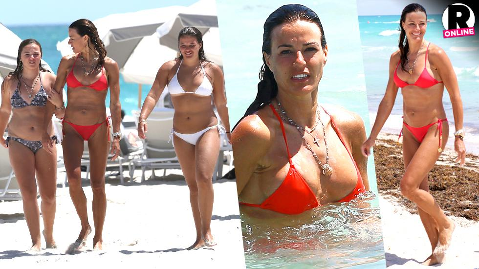 Kelly Bensimon Bikini Daughter Sea Miami