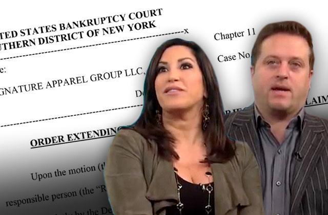 //chris laurita jacqueline laurita bankruptcy lawyers quit court date pushed rhonj