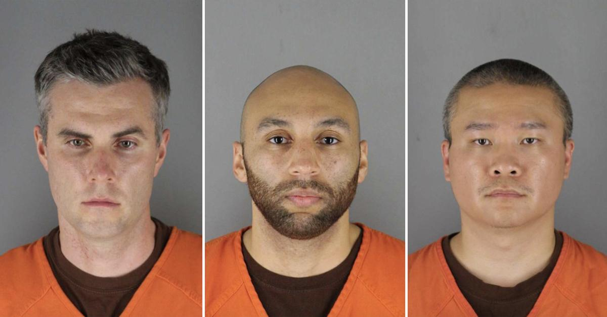 derek chauvin george floyd three officers charged questions jury black lives matter police pp