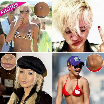 //celebs with crazy body piercings ramey bauer twitter getty_