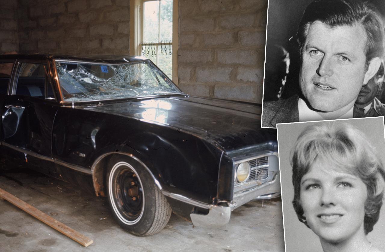 Ted Kennedy & Mary Jo Kopechne Chappaquiddick Car Accident