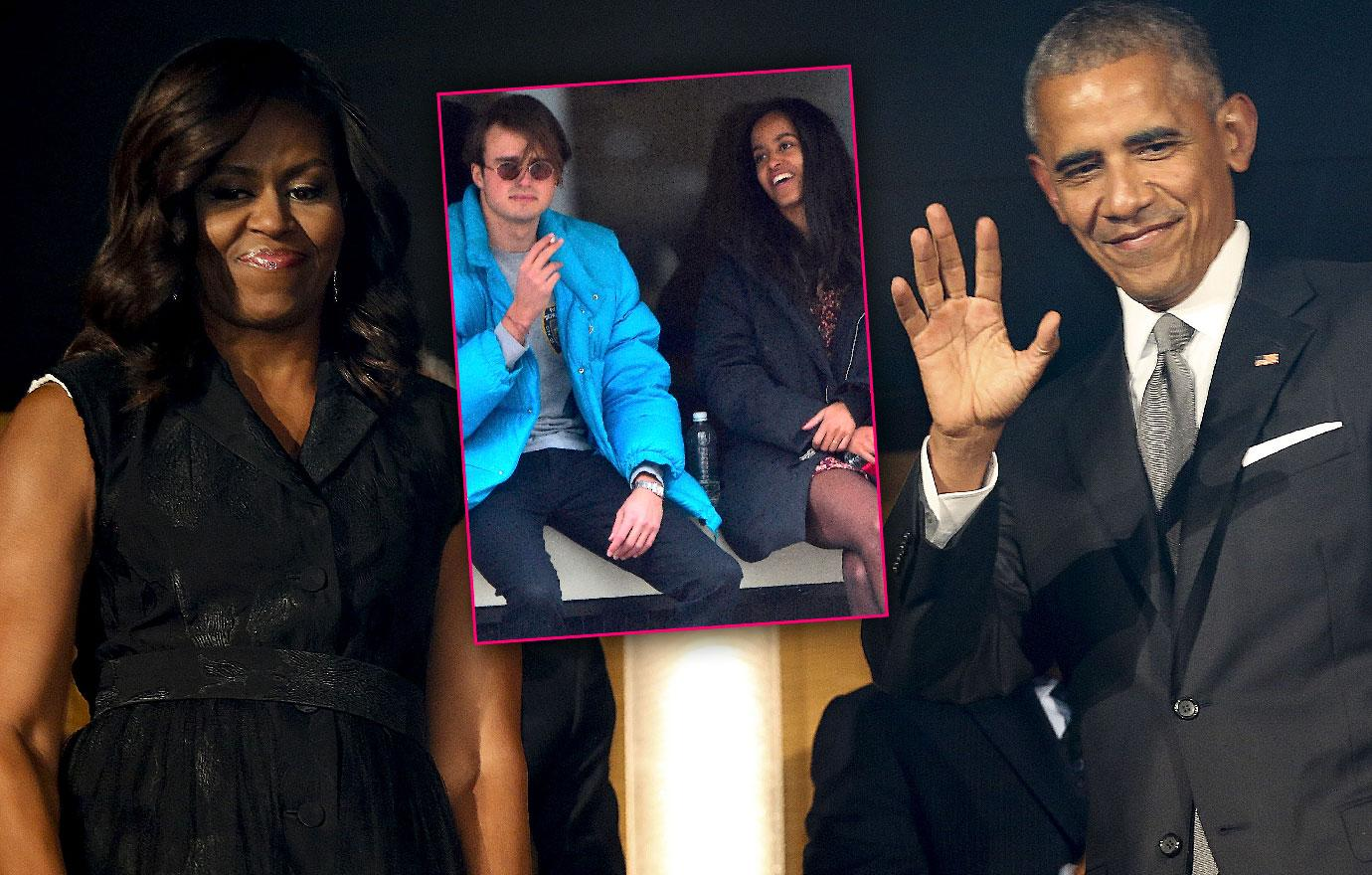 Obamas Write Letter To Daughter Malia's Boyfriend