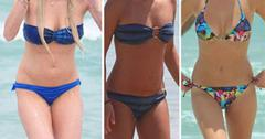 //lindsay lohan lea michele whitney port best bikinis