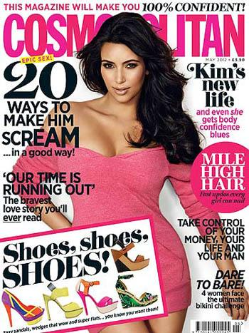 //kim kardashian cover cosmo uk