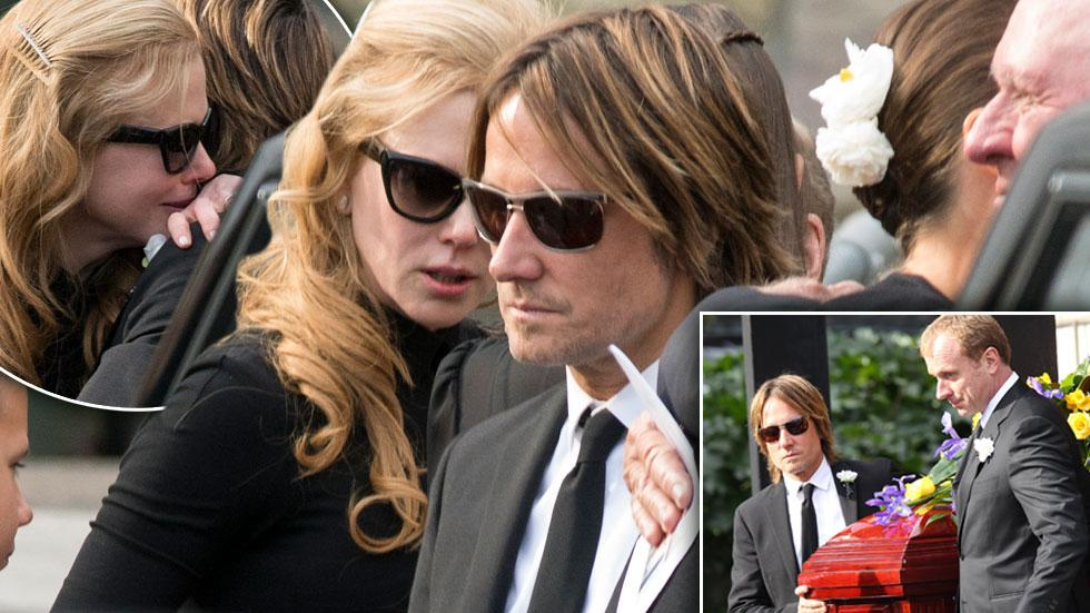 //nicole kidman mourning fathers funeral