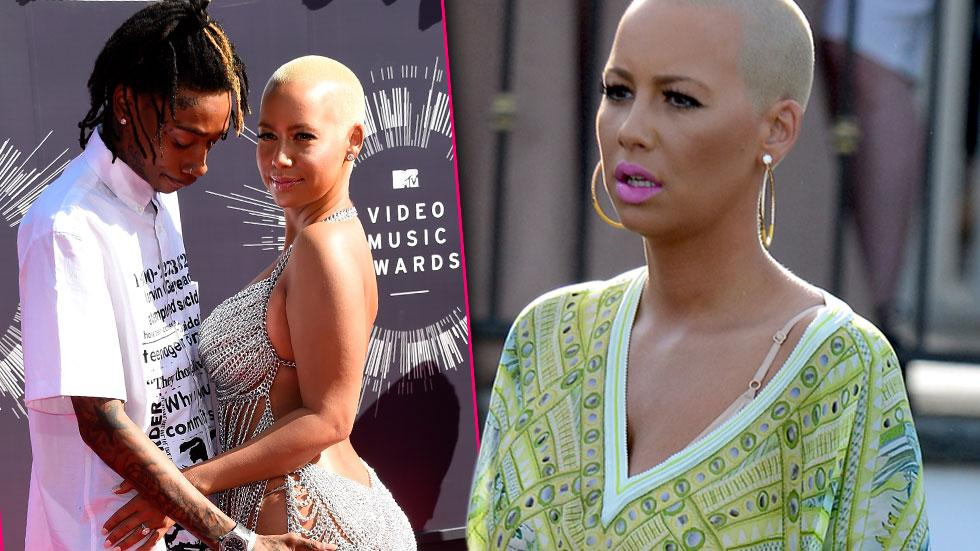 Amber Rose Hopes To Reconcile With Estranged Husband Wiz Khalifa