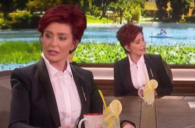 //sharon osbourne ozzy osbourne divorce the talk lemonade pp