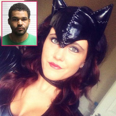 //jenelle evans halloween ex boyfriend kieffer delp arrested