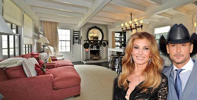 //faith hill tim mcgraw house wide getty