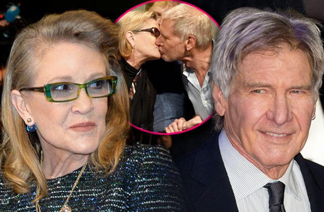 carrie fisher harrison ford affair rumors details