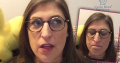 Mayim Bialik Mental Health Video Message