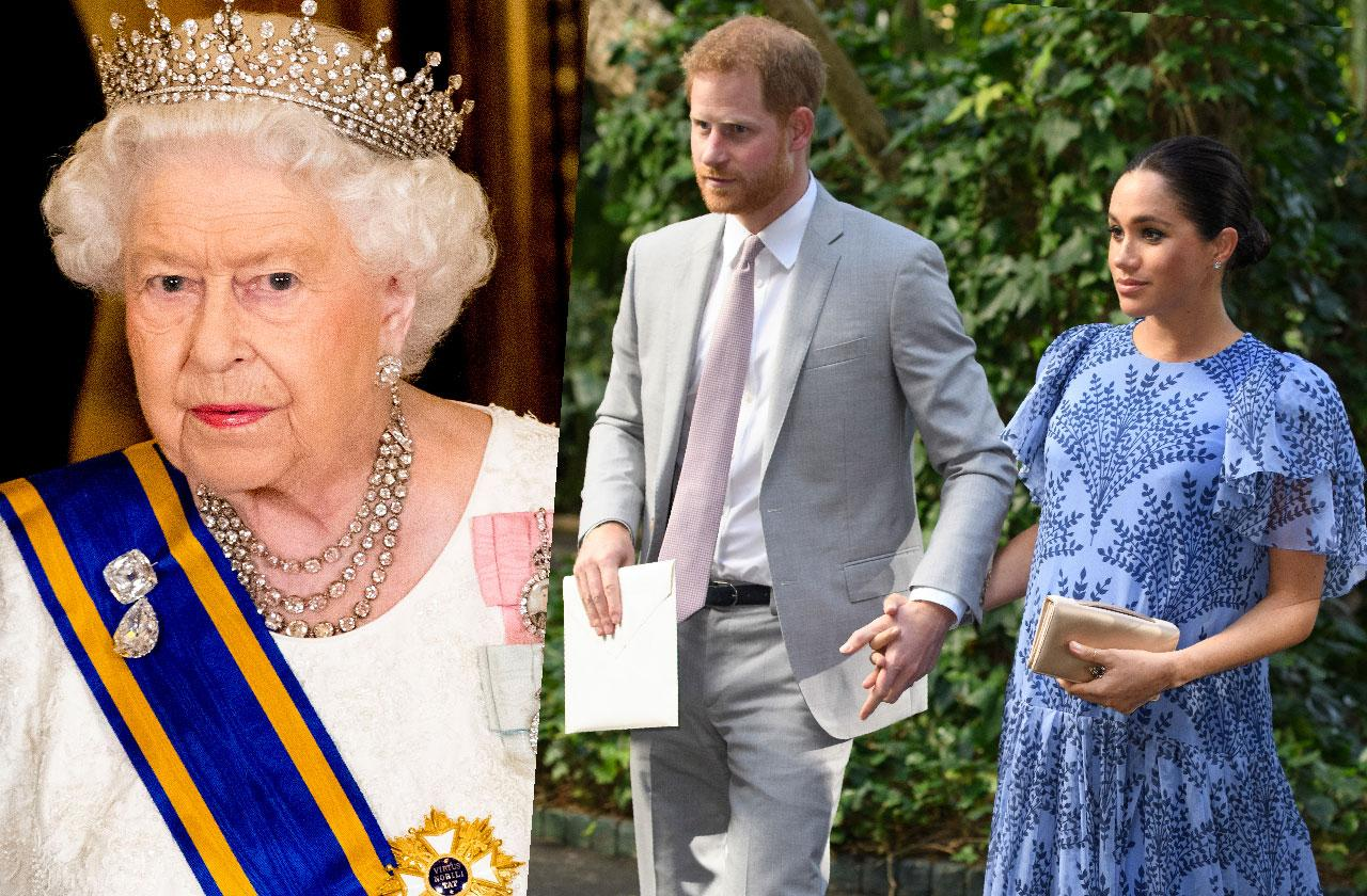 The Queen Curbs Harry And Meghan Philanthropic Plans