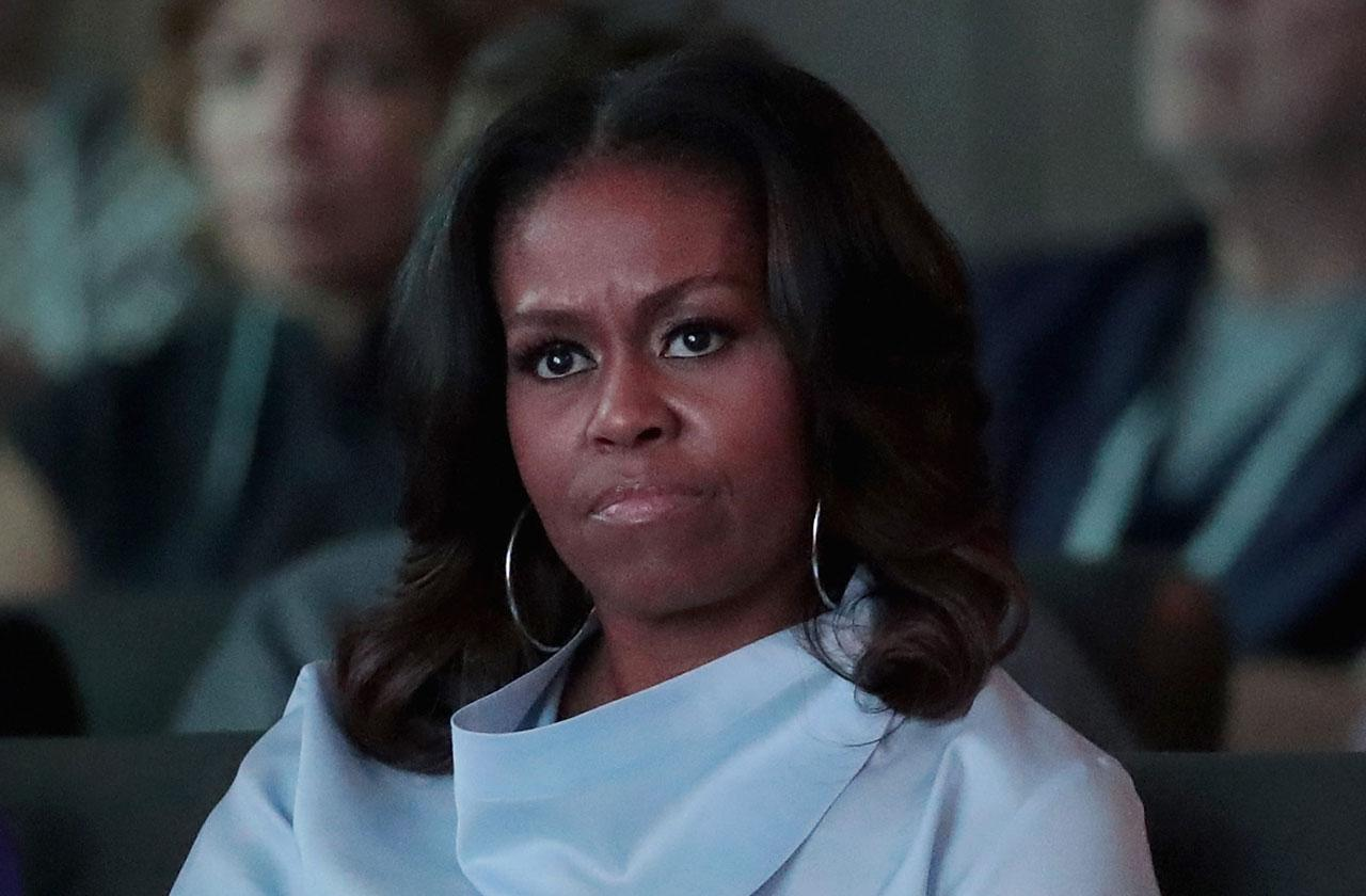 Michelle Obama Miscarriage Heartbreak Lonely Painful