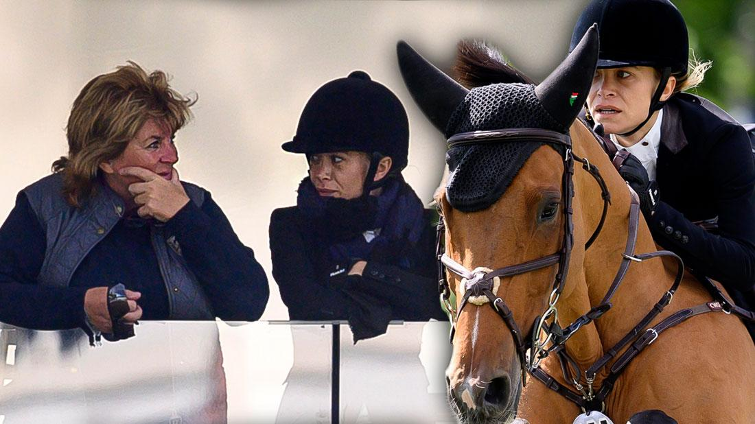 Horsing Around! Mary-Kate Olsen Competes In Spanish Equestrian Competition
