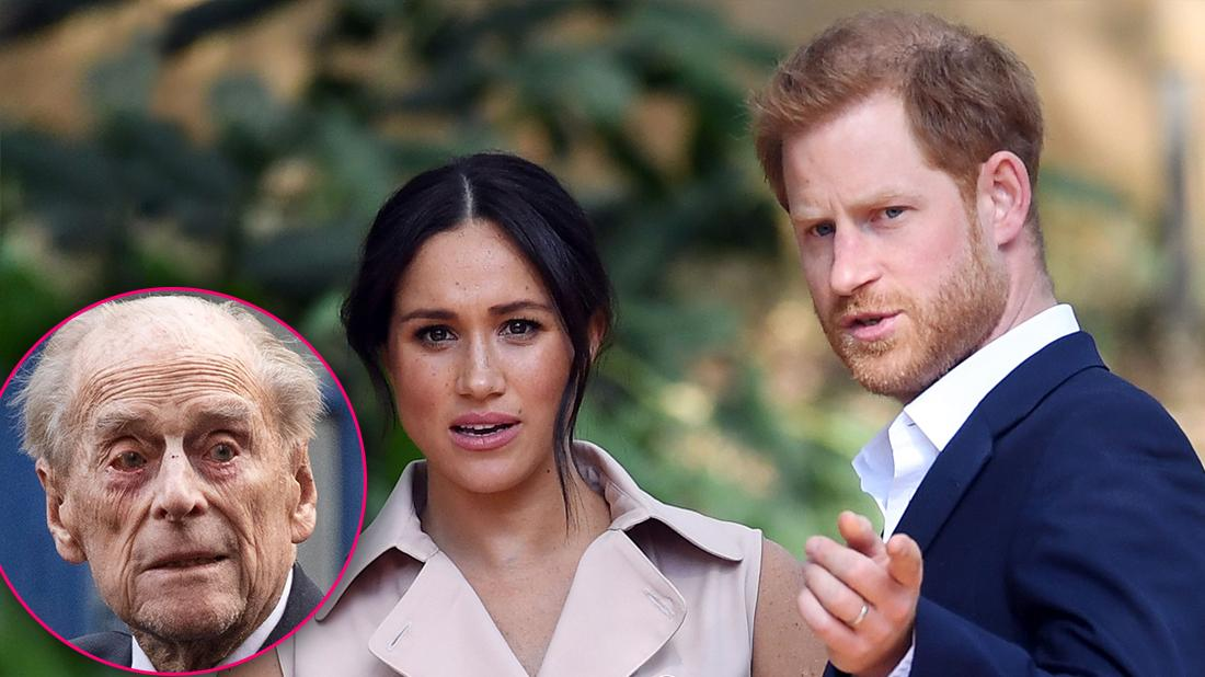 Meghan and Harry Leaving Royal Family Amid Prince Philip's Declining Health