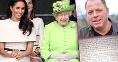 //meghan markle brother thomas letter queen elizabeth die young like princess diana pp