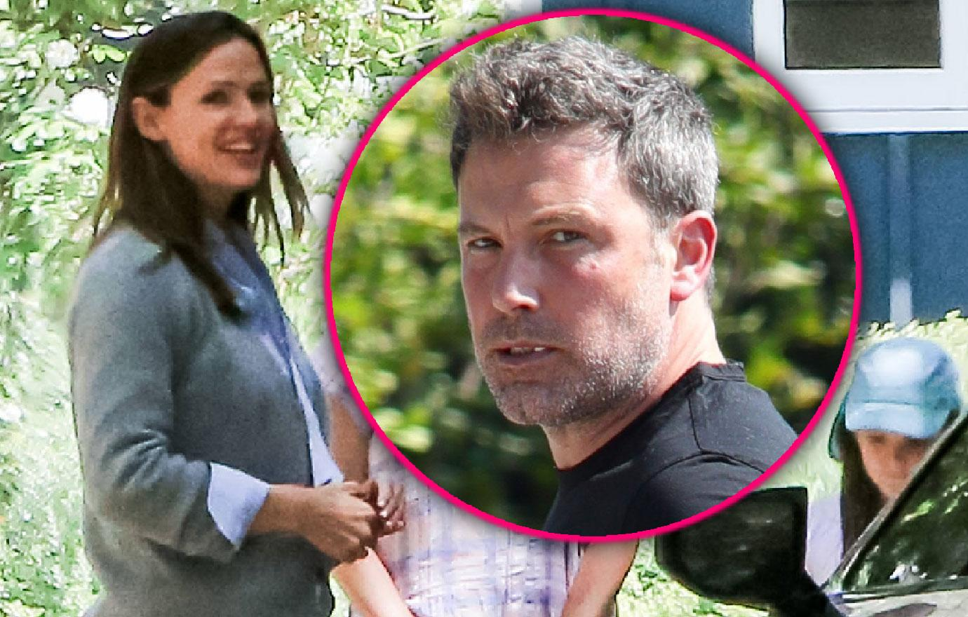 Jennifer Garner With Kids After Ben Affleck Goes To Rehab