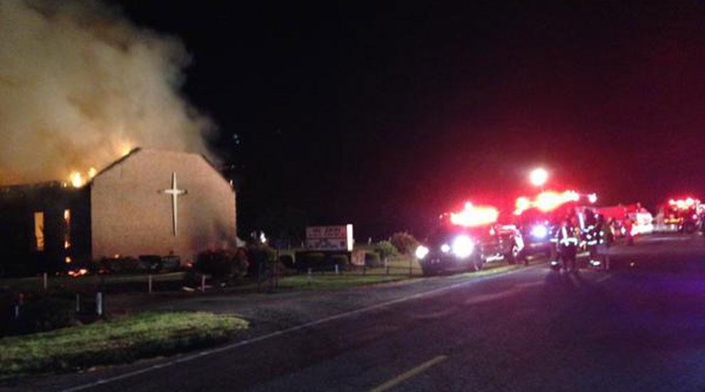 Black Church Burned South Carolina