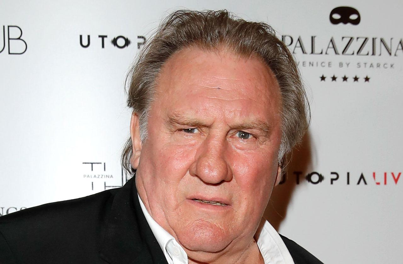 //Gerard Depardieu Denies He Raped Woman PP