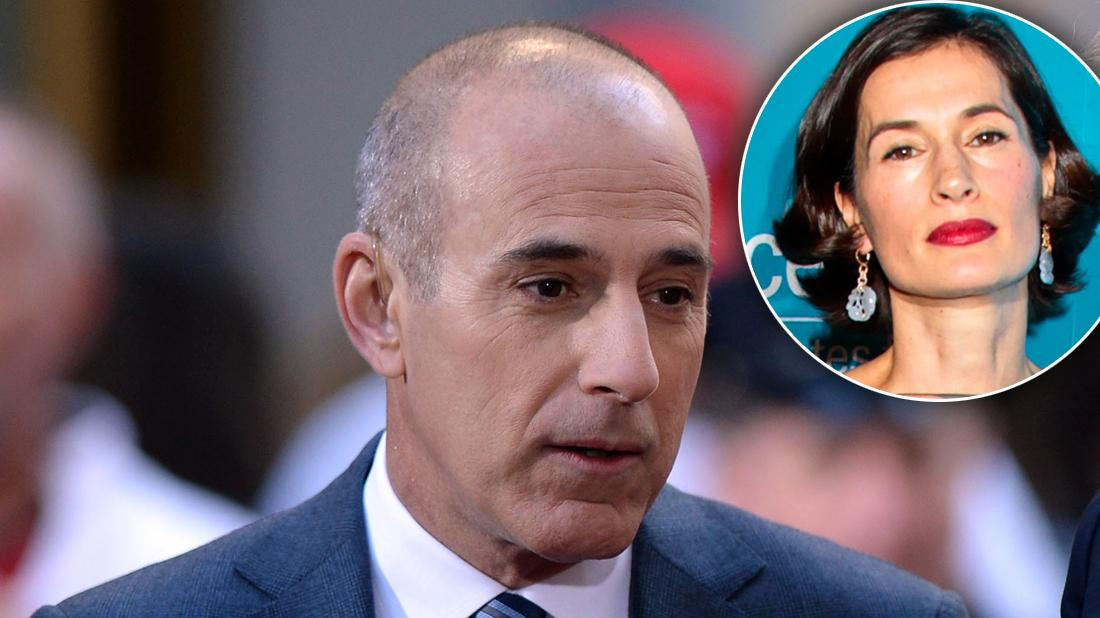 Matt Lauer Quickie Divorce To Avoid More Drama Amid Rape Claims Inset of Upset Annette Roque