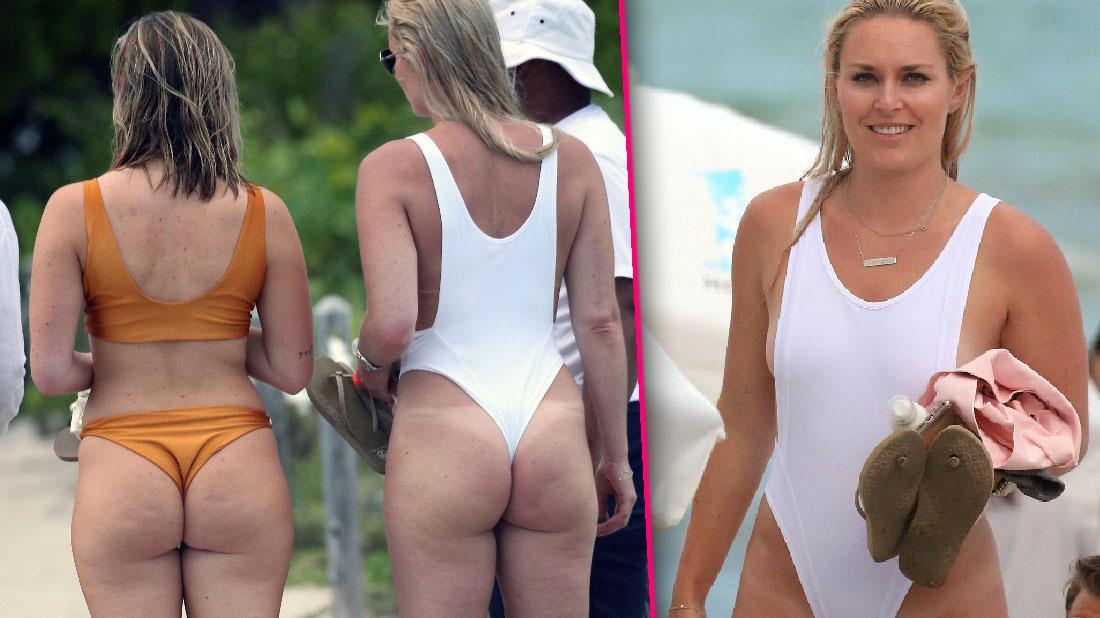 Lindsey Vonn Flaunts Swimsuit Body With Beau P.K. Subban