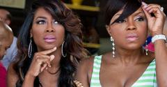 Kenya Moore And Phaedra Parks