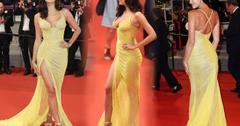 Irina Shayk Post Baby Body Skinny Cannes