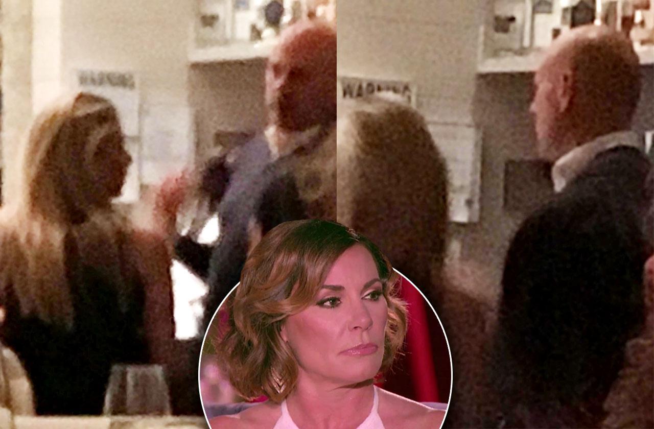 //luann de lesseps divorce tom d agostino spotted mystery blonde pp