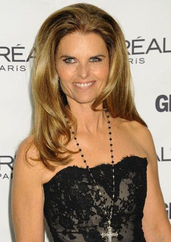 //maria shriver journalism inf