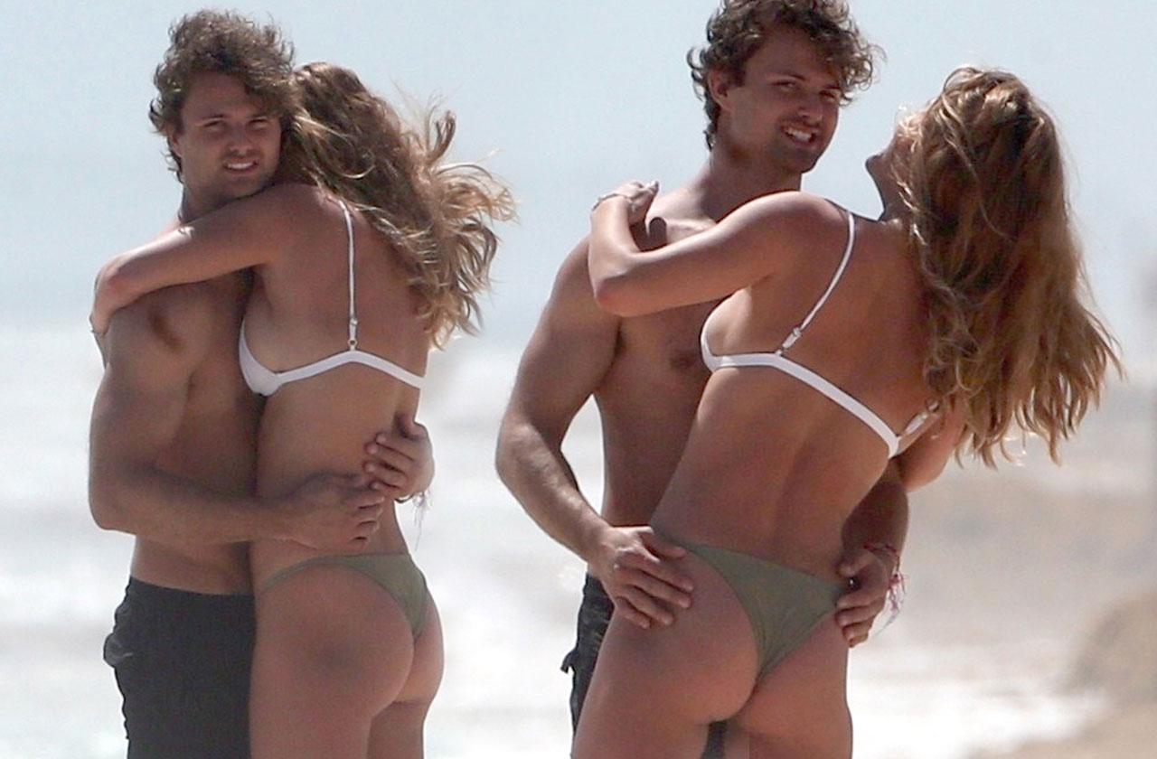 //nina agdal bikini thong wedgie pp
