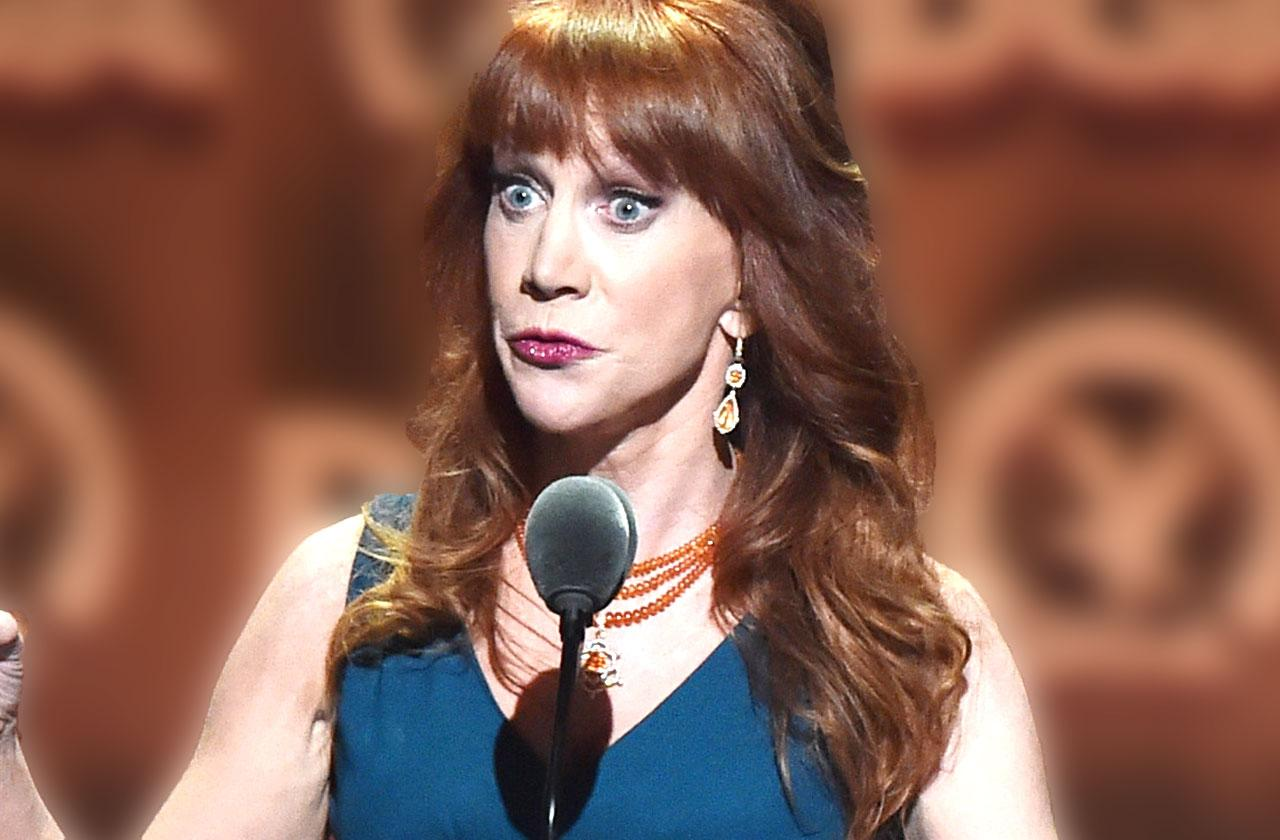 Kathy Griffin Donald Trump Photo Head Fired