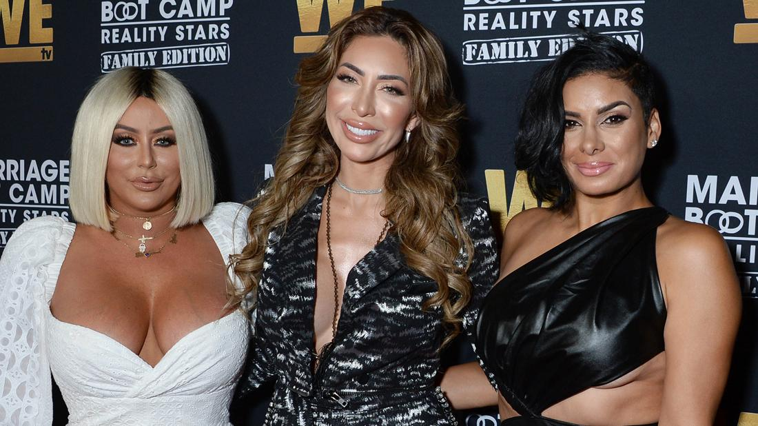 Aubrey O'Day Looks Unrecognizable At Marriage Boot Camp Premiere After Plastic Surgery