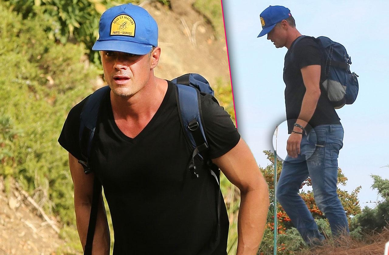 Josh Duhamel Hides After Fergie Split