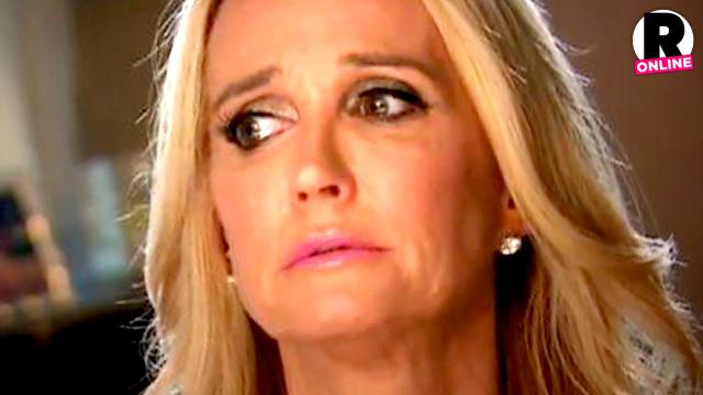 Kim Richards Negative Reality Show Impacting Sobriety