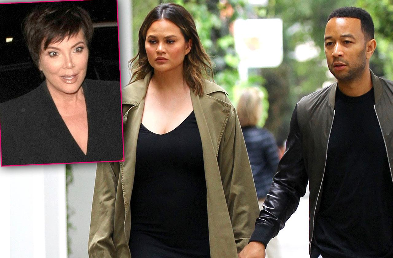 Are Chrissy Teigen John Legend Restraining Order Kris Jenner