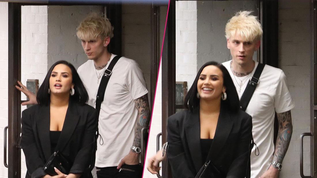 Demi Lovato Spotted In L.A. With Rapper Machine Gun Kelly