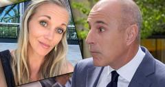 Matt Lauer's Ex-Lover Addie Zinone Slams His Rape Denial