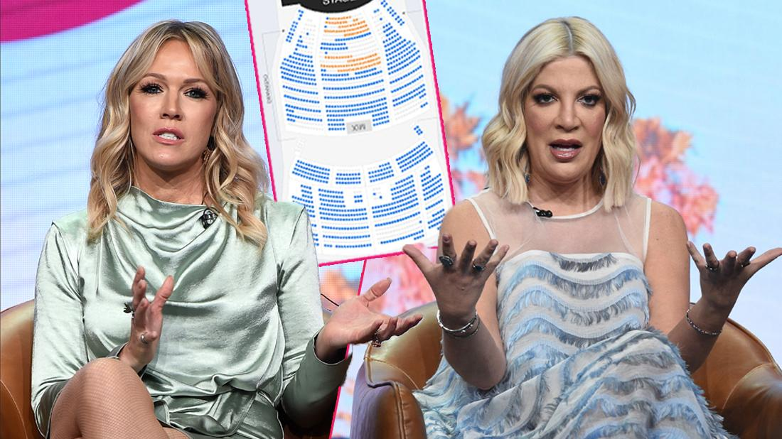Poor Tori! 3 Of Spelling & Jennie Garth's Talk Shows Canceled Amid Bad Ticket Sales
