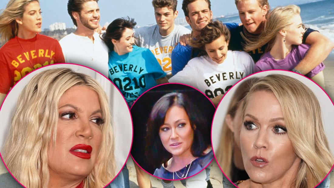 Writers Quit 'Beverly Hills 90210' Amid Drama With Actresses