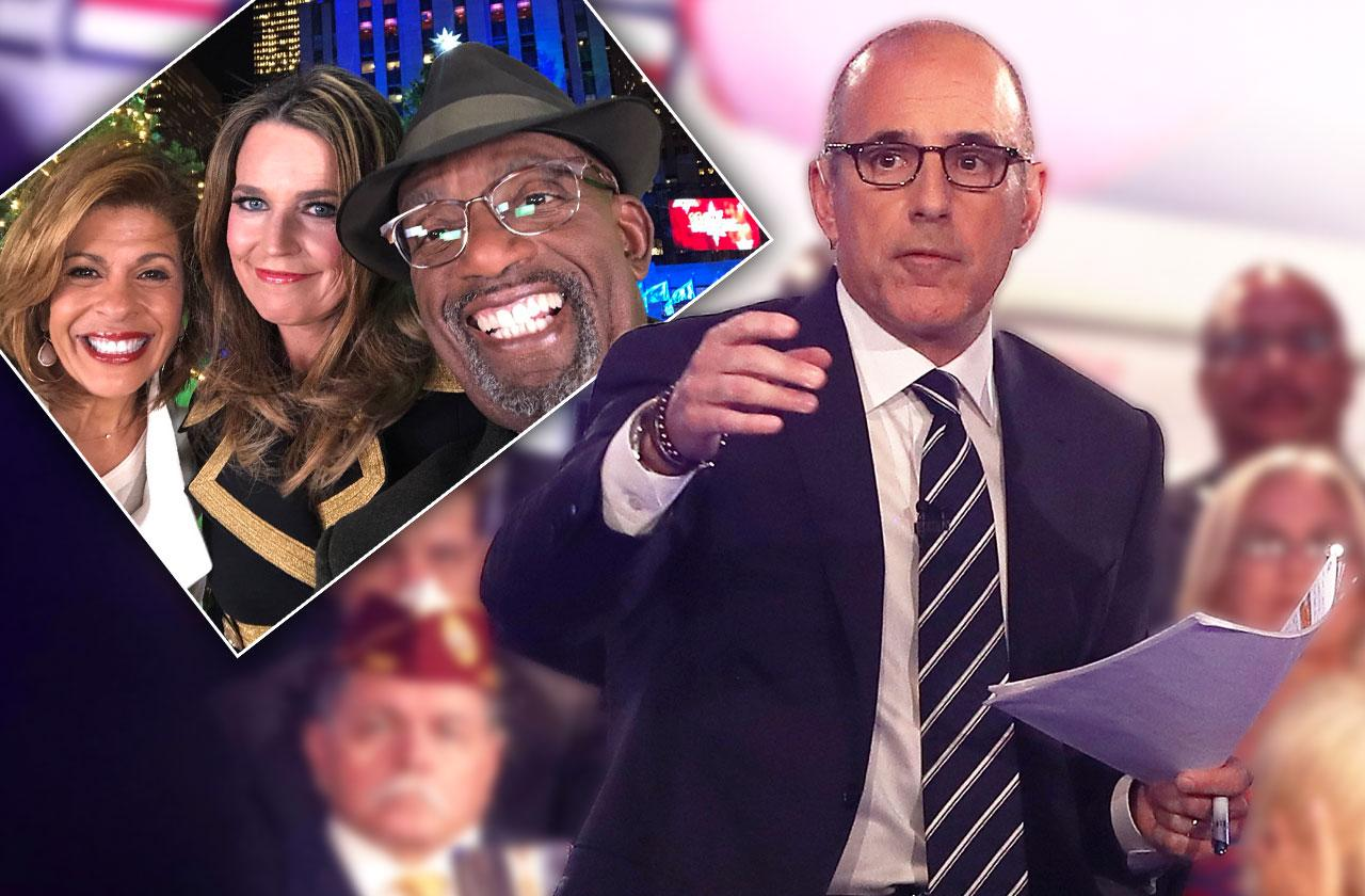 Matt Lauer Left Out Today Christmas Special