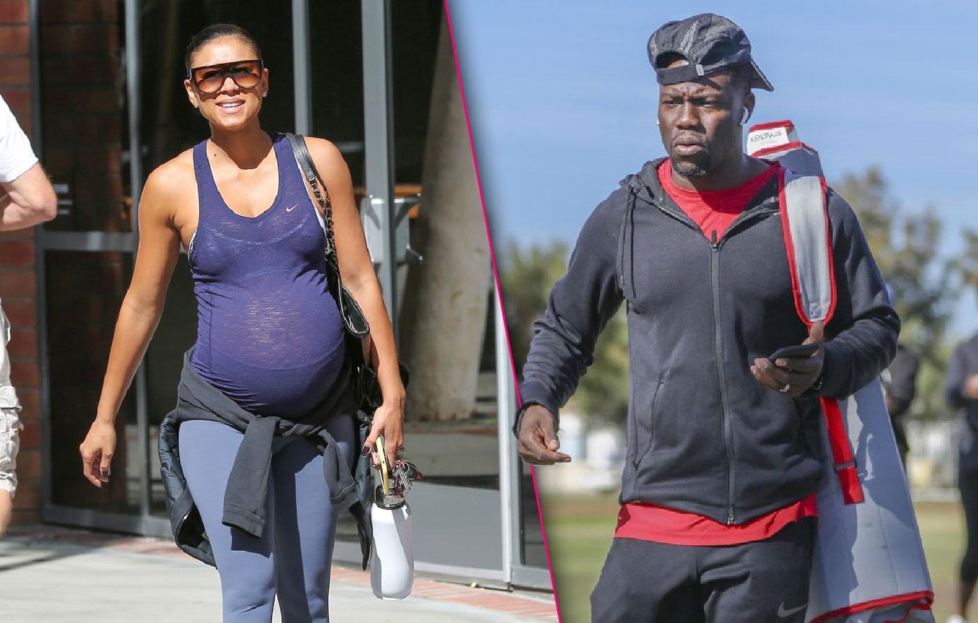 Kevin Hart Spotted Without Pregnant Wife Amid Cheating Scandal