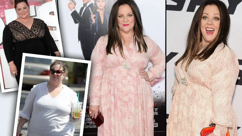 Melissa McCarthy Weight Loss Spy Premiere