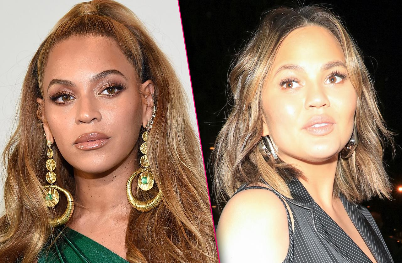 //Chrissy Teigen Says She Knows Who Bit Beyonce In The Face pp