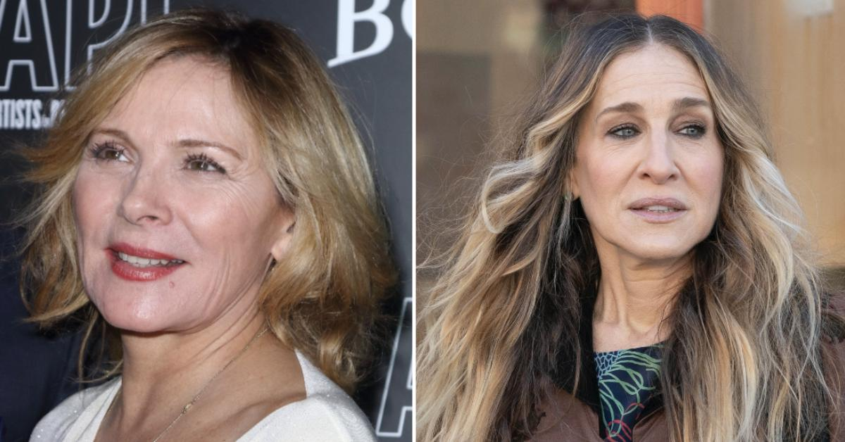 kim cattrall escapes nyc and sjp pp