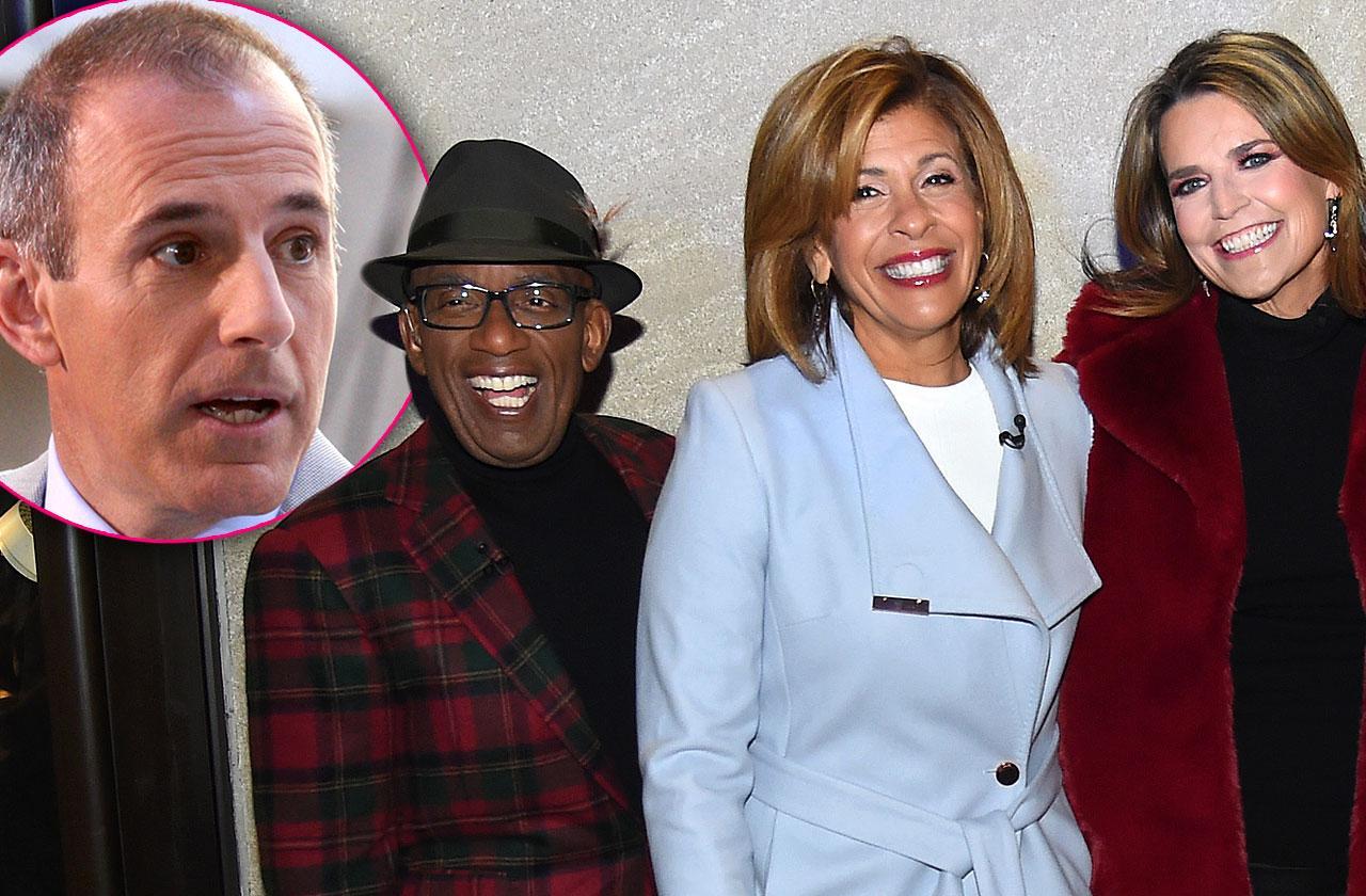Matt Lauer Banned From Al Roker Anniversary NBC Party