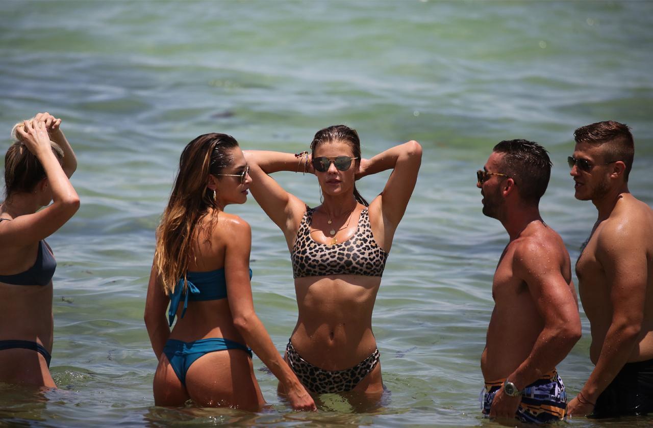 //nina agdal stuns in bikini on miami beach pp