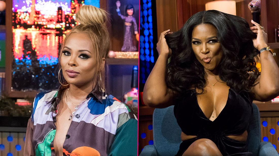 'RHOA' Drama – Eva Marcille Slams 'Compulsive Liar' Kenya Moore During Filming Fight