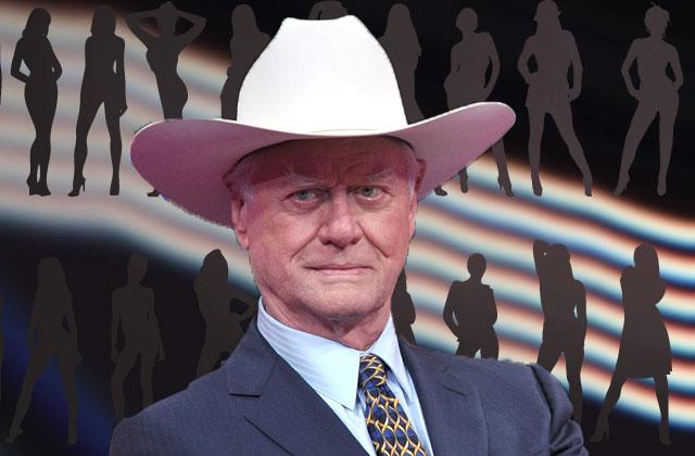 //dallas star larry hagman cheating scandals exposed daughter pp