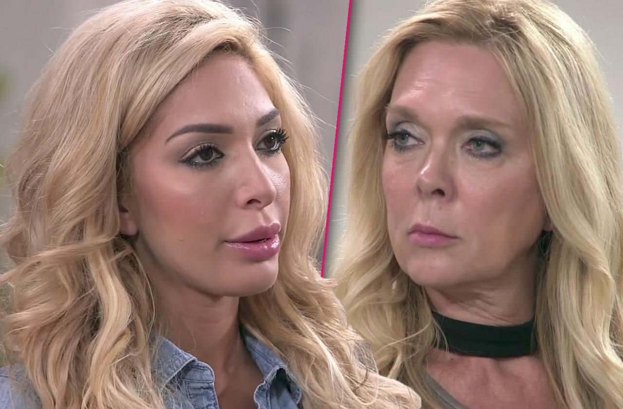 Farrah Abraham Abuse Physical Mom Debra
